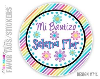 FVTAGS-714: DIY - Virgencita Plis Favor Tags Or Stickers