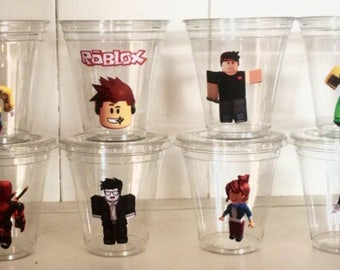 Roblox 12 oz party cups with lids