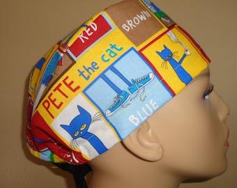 Skull Cap , Tie Back , Scrub Cap , Kids novel , book ,