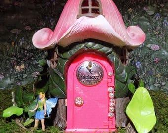 Pretty in Pink miniature working door