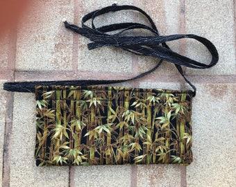 """Money/passport belt pouch - 10"""" x 5"""""""
