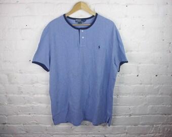 90s Polo Ralph Lauren shirt blue vintage