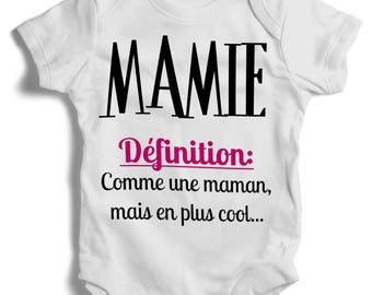 Grandma definition onesie Bodysuit.