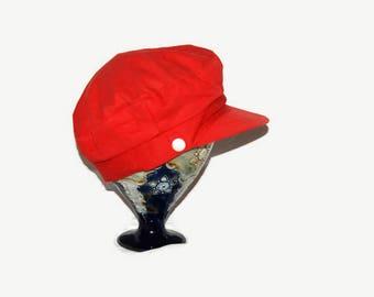 60's red cap