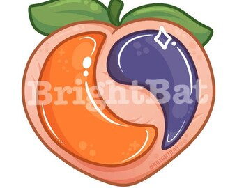 Forbidden Fruit Pod Sticker ( limited run )