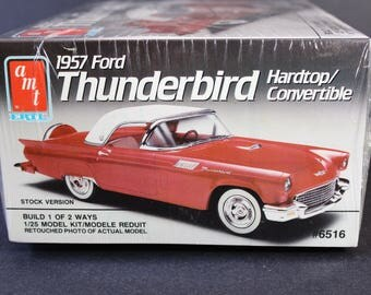 57 Ford Thunderbird Model Kit by ERTL #6516