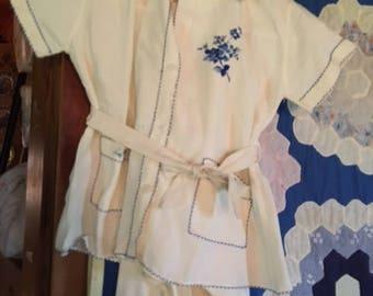 Handmade Embroidery Japanese Silk Children Kimono's w/pants
