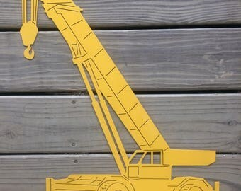 Construction Crane Truck Wall Hook