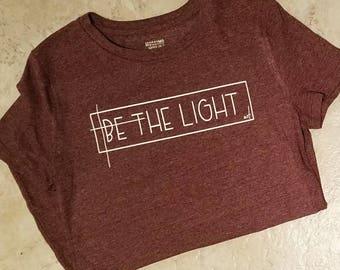 Be The Light Ladies Tee