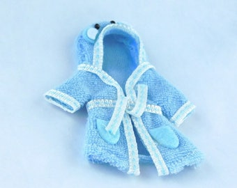 towel hoodie for children dollhouse miniature 1/12 scale