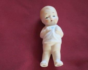 Vintage Shackman Porcelain Child Figurine