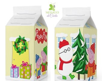 Peppa Pig Christmas favor box