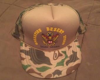 Vintage Operation Desert Storm cap