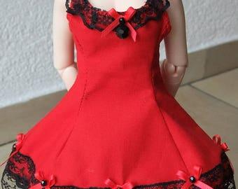 Cotton & Lace Dress - MSD