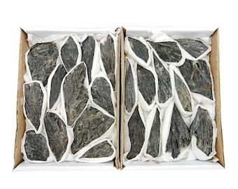 Black Kyanite Blades Flat Box (RK124)