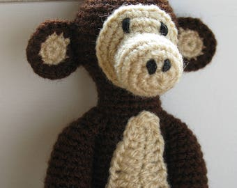 Mr. Monkey crochet amigurumi