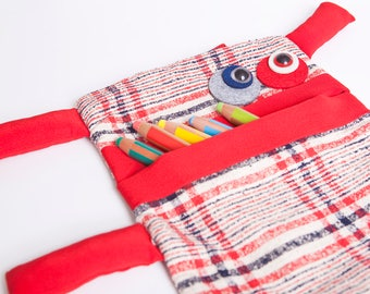 Snowman kids backpack, bag for school, travel and leisure
