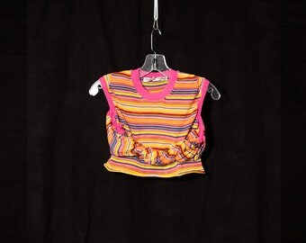 S A L E --- COMME DES GARCONS striped top aw01 --- S A L E