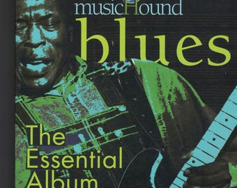 1998 Music Hound Blues The Essential Album Guide Book ~~ FREE SHIPPING in the USA!