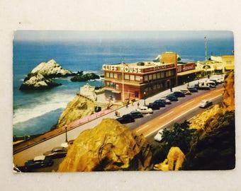 Vintage Ca Postcard Cliff House San Francisco Seal Rocks San Francisco CA