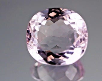 15.30ct,Oval Round shape Pink color Kunzite @Afghanistan.
