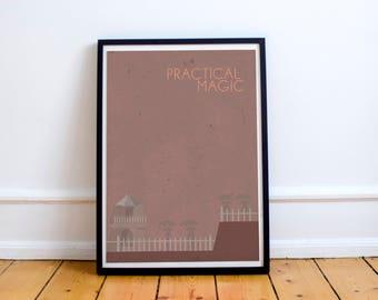 Practical Magic minimalist A3 print