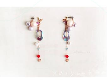 """Earrings, """"A Scenery Of You And I"""" - (03-002)"""