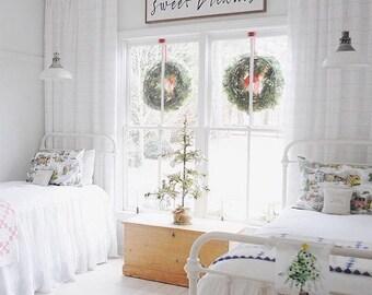 Linen Coverlet - Ruffled Bedspread - Linen Bedspread - Linen Blanket - Linen Bed Cover - French Linen - All Sizes - Shabby Chic