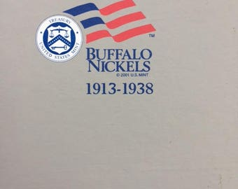 Complete Set of Buffalo Nickels 1913 to 1938 - All Mints P D S - Does not contain error coins - Most have been cleaned to show date better