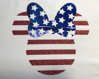 Patriotic Mickey/Minnie Shirt