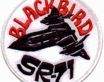 Black Bird SR 71 U.S. army Aviation patch badge