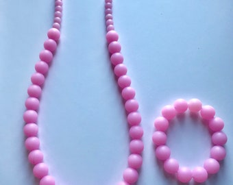 Sale- Clear Pink Pearl Style Set