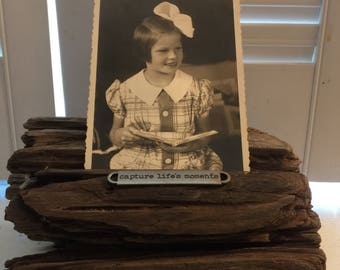 Driftwood Photo/Note Holder