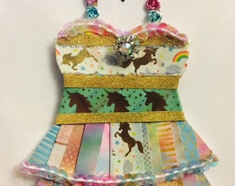 Unicorn Paper Dress. Limited!