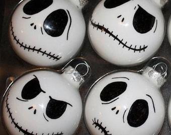 Jack skellington nightmare before Christmas ornaments