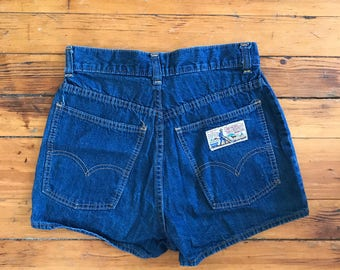 Levi's Plowboy High Waisted Short