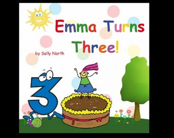 Personalized birthday book, gift for birthday girl, niece, granddaughter. hardcover
