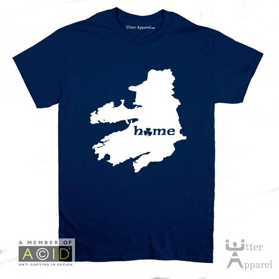 Ireland Gift For Men - Ireland Homeland T-shirt , YOU CHOOSE the county, Irish t-shirt, funny Irish gift for Christmas, sizes S-2XL