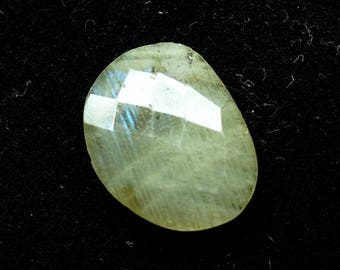 60% OFF - 20x15x6 mm Natural Labradorite Faceted Gemstone  (T-43)