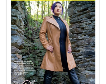 McCall's Sewing Pattern M7644 Misses' Coat Costume