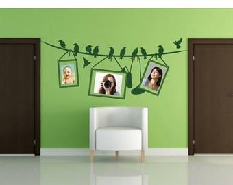 20% OFF Summer Sale Picture Line frame wall decal, sticker, mural, vinyl wall art