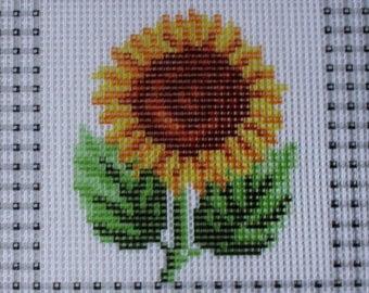 FLOWER, sunflower, canvas only, ref 1400