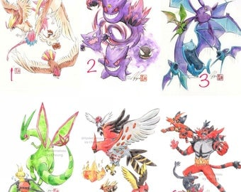 Print - Pokemon EVO-sets