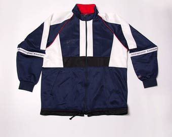 Vintage Canterbury New Zealand 90s Rugby Zip Up Jacket