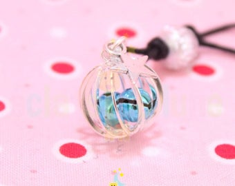 Pregnancy's Bola Bell silver Cage turquoise Bell ringing