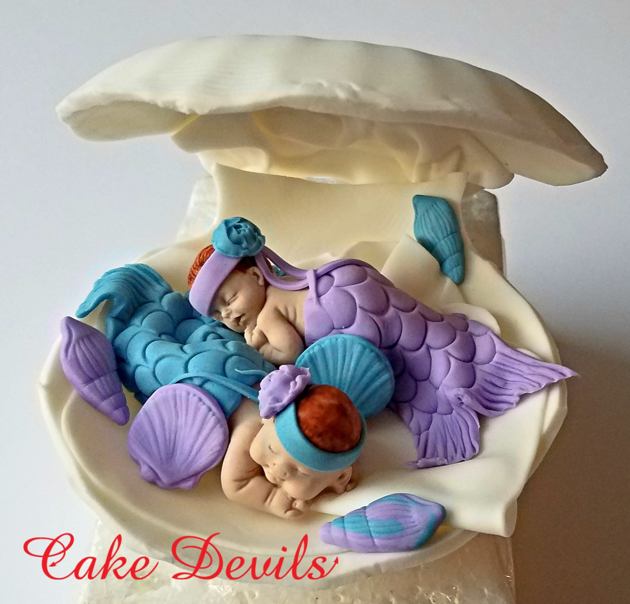 How To Make A Fondant Mermaid Cake Topper