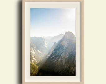 Yosemite Valley, Glacier Point Sunrise, Half Dome // Yosemite National Park