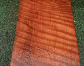 BL501  Wood turning Block/Blank  Redwoodburl craft wood WITH CURLY GRAIN