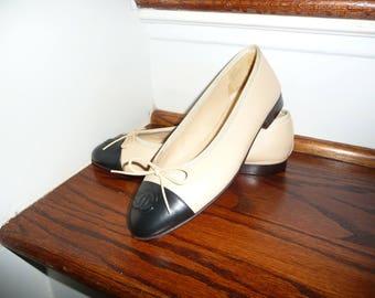 Chanel ballet flats size 36