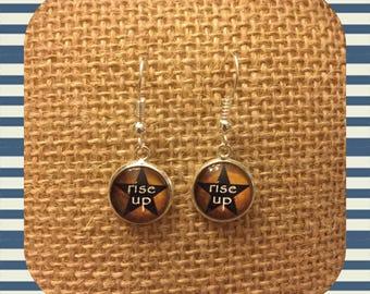 Hamilton-inspired Earrings! Custom design!